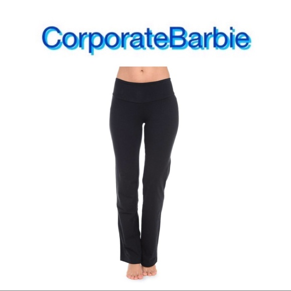 choose authentic exclusive deals official photos Tummy Control Bootcut Yoga Pants